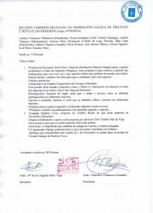 Acta Comisión Delegada Setembro 2014