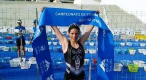 GÓMEZ NOYA E AÍDA VALIÑO, CAMPIÓNS DE ESPAÑA DE ACUATLÓN