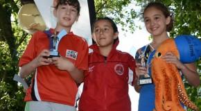 CIDADE DE LUGO FLUVIAL E TRÍATLON FERROL, CAMPIÓNS GALEGOS DE TRÍATLON DE CATEGORÍAS MENORES
