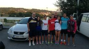 A selección española youth de péntatlon moderno prepara en Lugo o Europeo