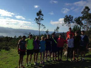 Á volta de Chile, os triatletas regresarán a Galicia