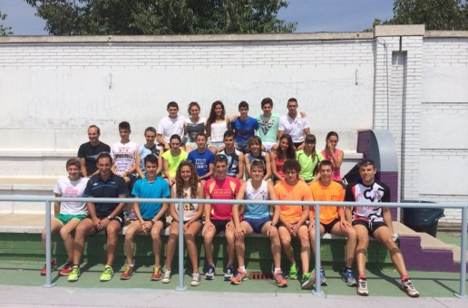 DEPORTISTAS DO CGTD, CONCENTRADOS EN VALLADOLID