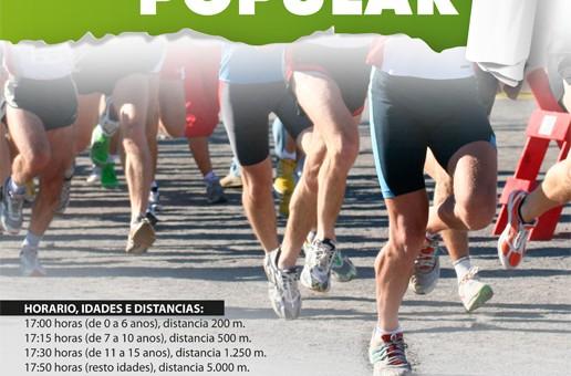 II CARREIRA POPULAR FESTAS DE A MILAGROSA 2014