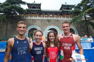 Mixed Team Relay Youth Olympics 21.08.2014
