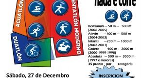 """Competicións Nadal 2014, A Coruña: Péntatlon Moderno e """"Nada e Corre"""""""