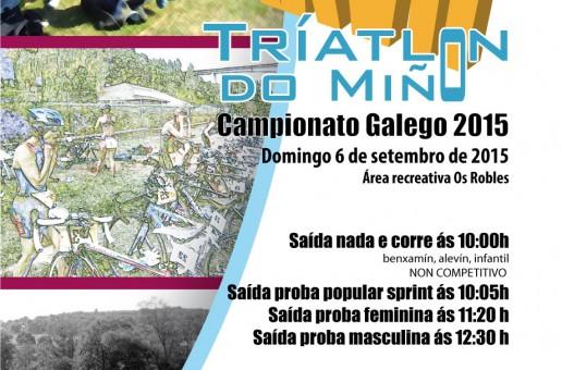 INSCRICIÓN PROVISIONAL CTO GALEGO TRÍATLON 2015 / XXVII TRÍATLON POPULAR DO MIÑO