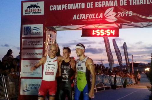UXÍO ABUÍN, BRONCE NO CAMPIONATO DE ESPAÑA DE TRÍATLON DISTANCIA OLÍMPICA