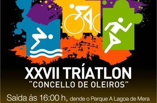 INSCRICIÓN XXVII TRÍATLON CONCELLO DE OLEIROS