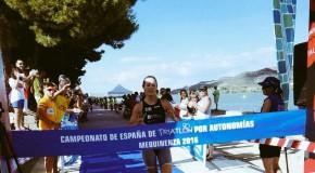 GALICIA, LÍDER PROVISIONAL XUNTO A CATALUÑA DO CAMPIONATO DE ESPAÑA DE TRÍATLON POR AUTONOMÍAS TRALA PRIMEIRA XORNADA