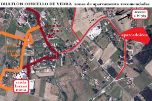 Zonas aparcamento Vedra