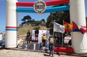 podio fem Baiona