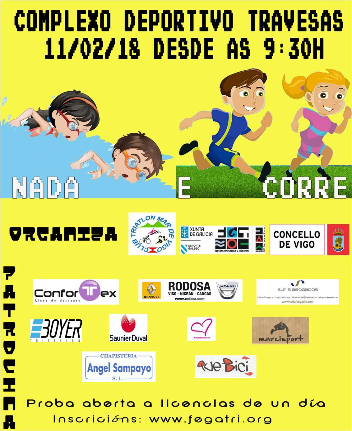 INSCRICIÓN NADA E CORRE VIGO (11/02/2018)