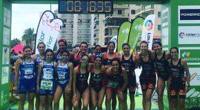 Cidade de Lugo Fluvial, gañador da Copa da Raíña co Tríatlon Ferrol na segunda posición