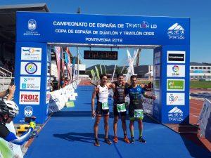 podio galego masculino