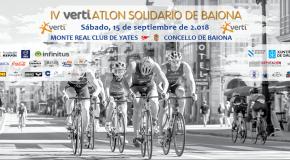 INSCRICIÓN IV VERTIATLÓN SOLIDARIO CONCELLO DE BAIONA (15/09/2018)