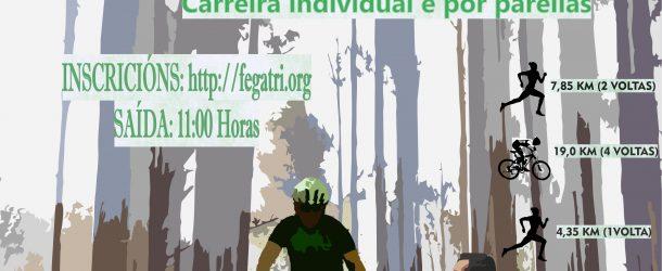 O DOMINGO 24 DE FEBREIRO CELEBRARASE EN SADA O GALEGO DE DÚATLON CROSS CON 130 INSCRICIÓNS