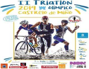 II Tríatlon  Castrelo do Miño- Campionato Galego de Tríatlon Olímpico con drafting