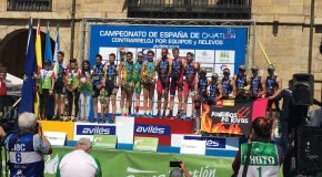 GRAN ACTUACIÓN DOS CLUBES GALEGOS NO CAMPIONATO DE ESPAÑA DE AVILÉS.