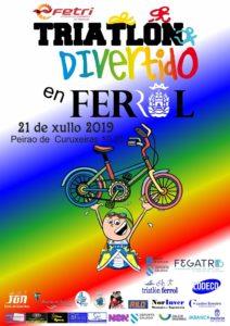Inscrición Definitiva Triatlón de Menores de Ferrol