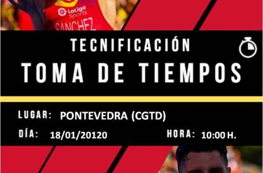 RESULTADOS TOMA DE TEMPOS PNTD –