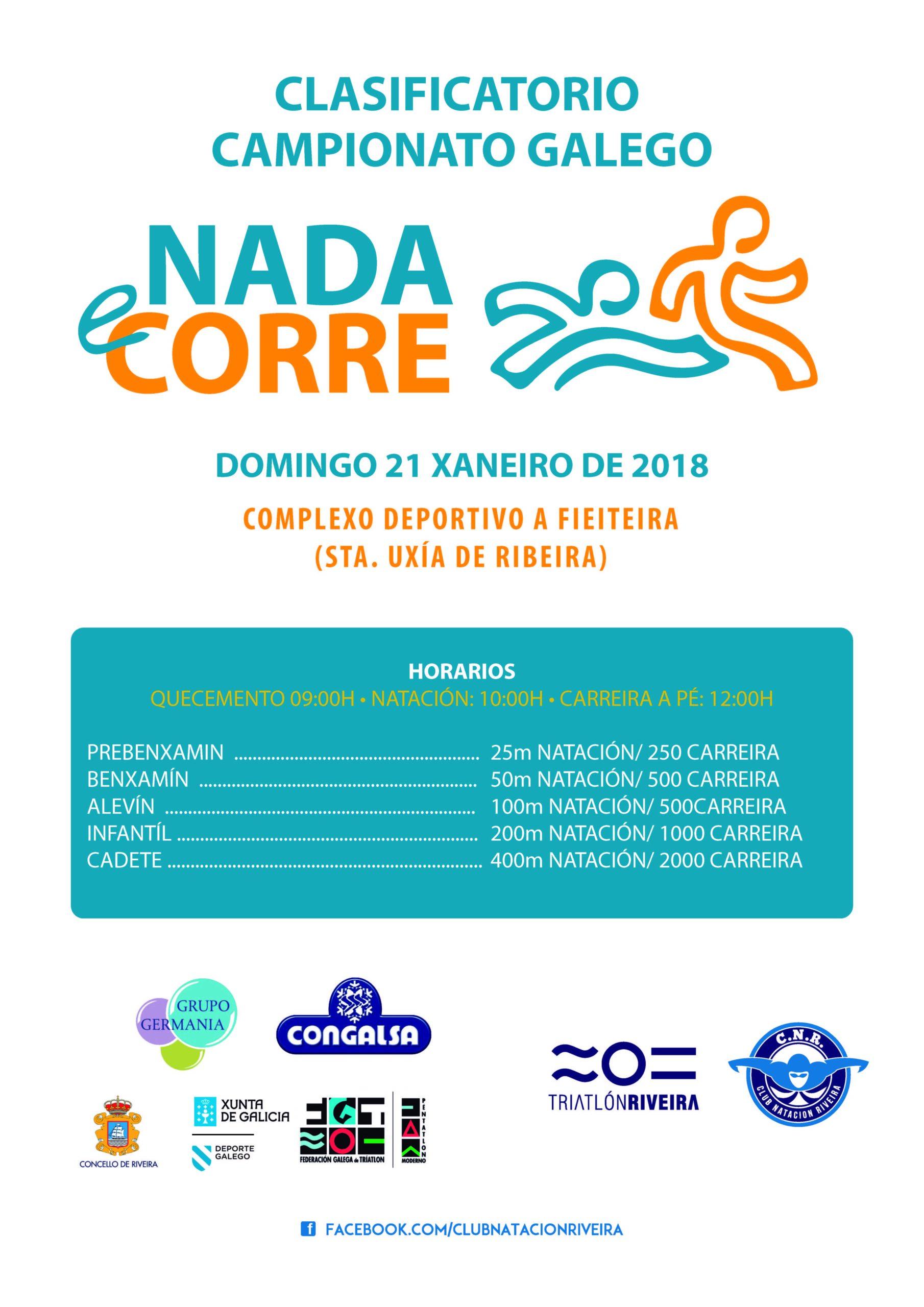 INSCRICIÓN NADA E CORRE RIVEIRA (21/01/2018)