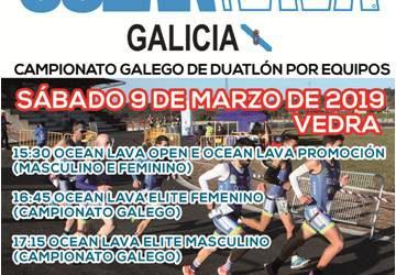 Horarios saída Equipos /Reunión Técnica- Ocean Lava Galicia-Cpto Galego de Dúatlon por  Equipos