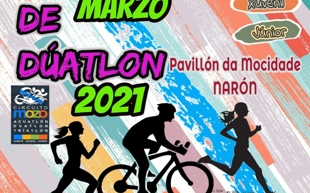 INSCRICIÓN-REUNIÓN TÉCNICA-SAÍDAS CAMPIONATO GALEGO DÚATLON SUPERSPRINT NARÓN -CAMPIONATO XUNTA DE GALICIA- (28/03/2021)