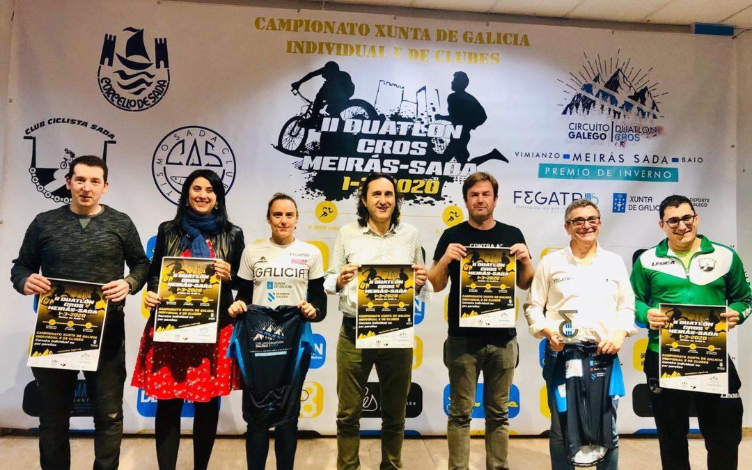 SADA ACOLLERÁ O CAMPIONATO GALEGO XUNTA DE GALICIA DE DÚATLON CROS 2020