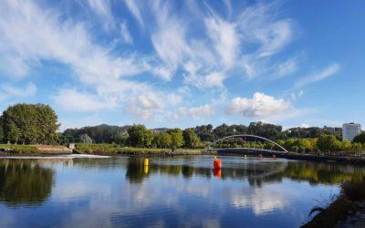 O  triatlon brillou en Pontevedra