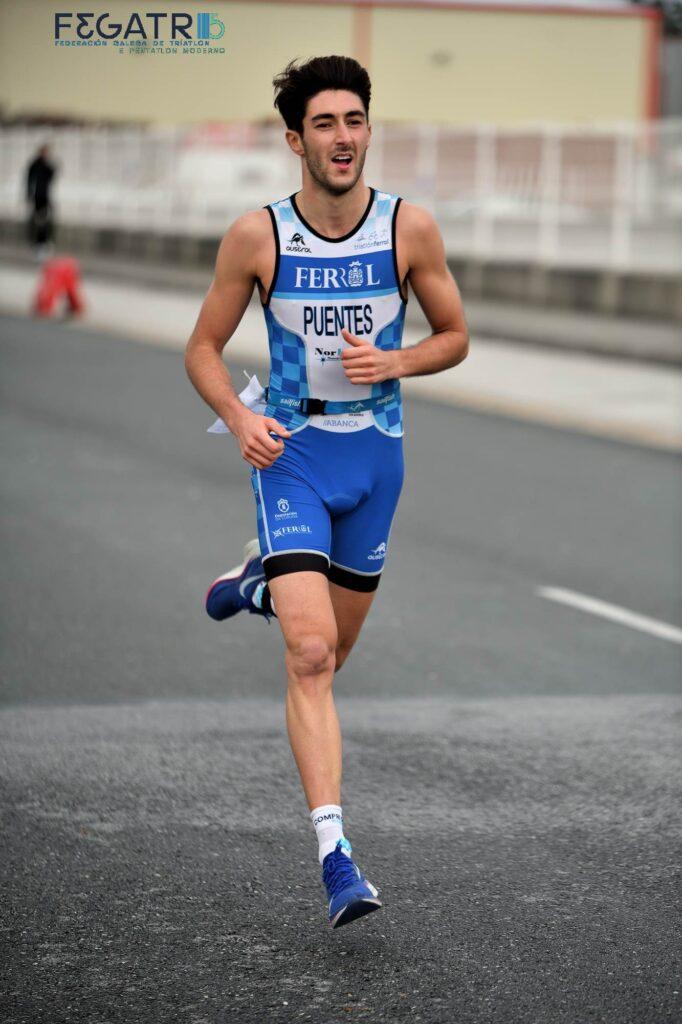 Ivan puentes campionato de xunta de galicia duatlon