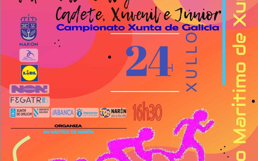Clasificacións provisionais Trishark Narón Popular e Cpto Galego de Triatlón Supersprint  (CD/XV/JN)