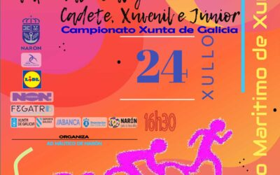 Trishark Narón, Campionato Xunta de Galicia Tríatlon SuperSprint categorías Cadete, Xuvenil e Junior