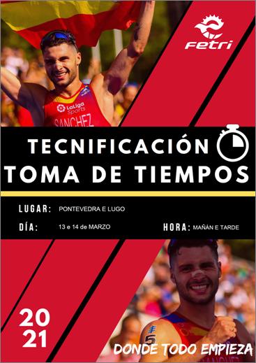 INSCRICIÓN PROVISIONAL TOMA DE TEMPOS (PNTD)