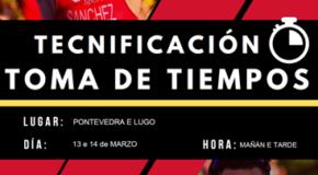 Información Toma de Tempos do Plan Nacional de Tecnificación Deportiva(Series/bloques/sedes)