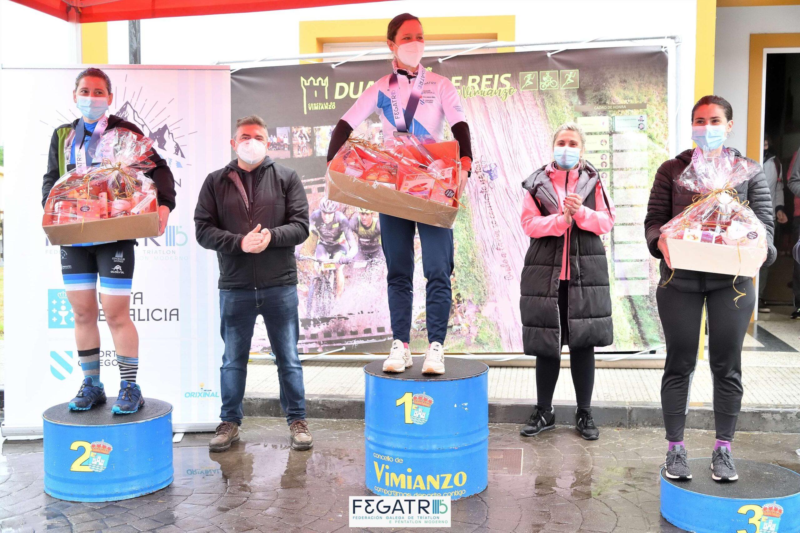 duatlon concello de vimianzo_podio feminino