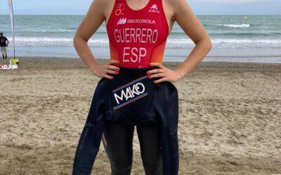 Sara Guerrero na Copa de Europa de Caorle