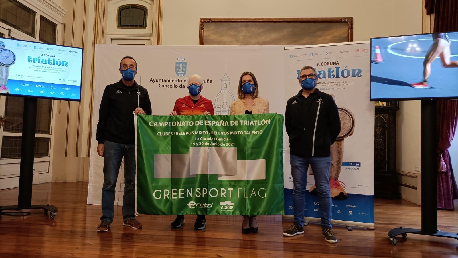 Presentación Triatlon A Coruña