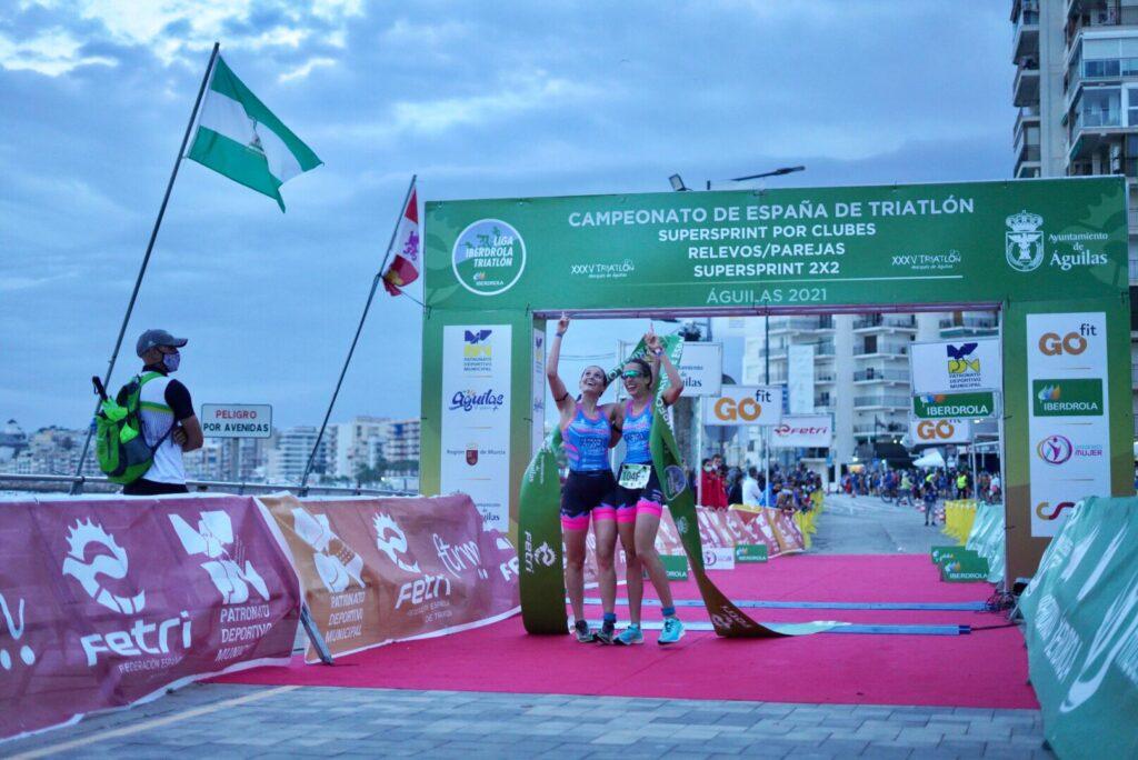 nautico de naron-Relevos-Parejas-Femenino triatlon galego