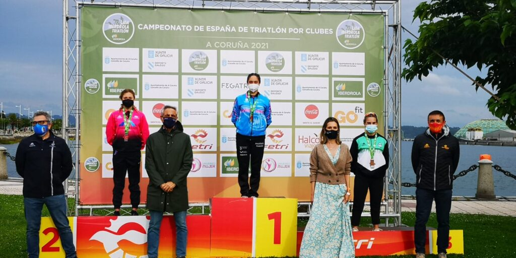 nautico de naron triatletas galegos