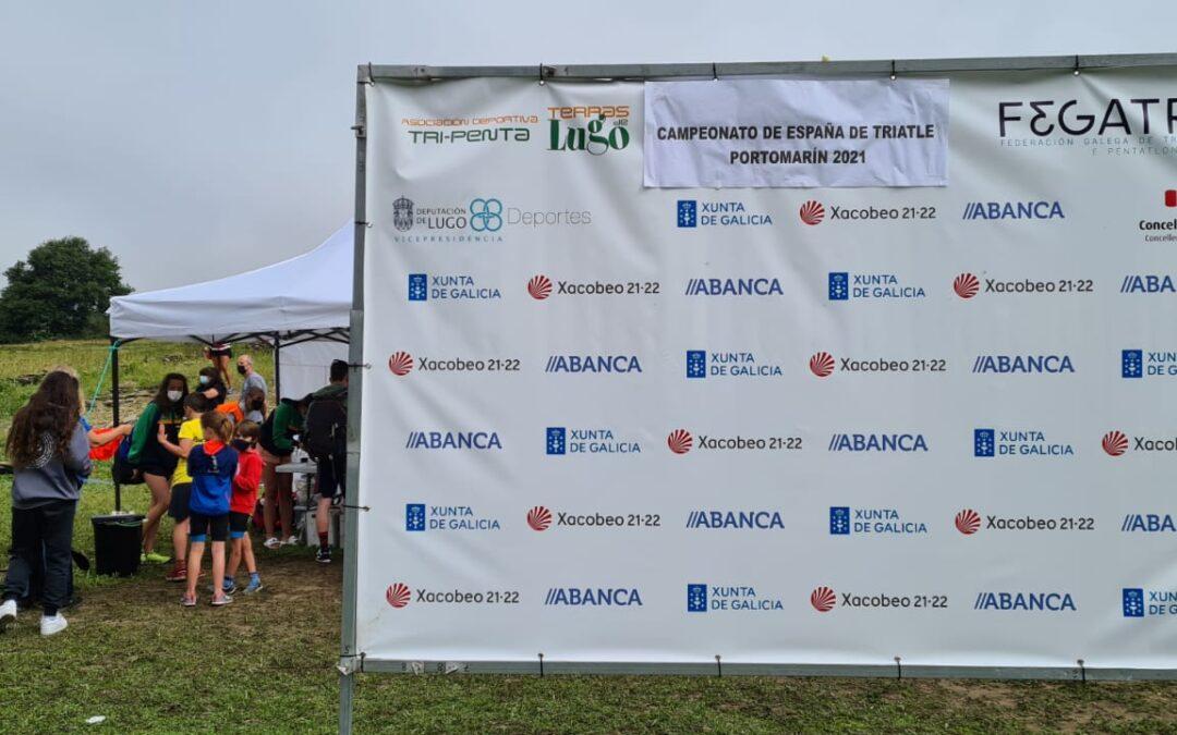 Campionato de España Biatle e Triatle Portomarín