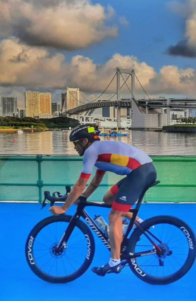 Triatlon Olímpico e Gómez noya