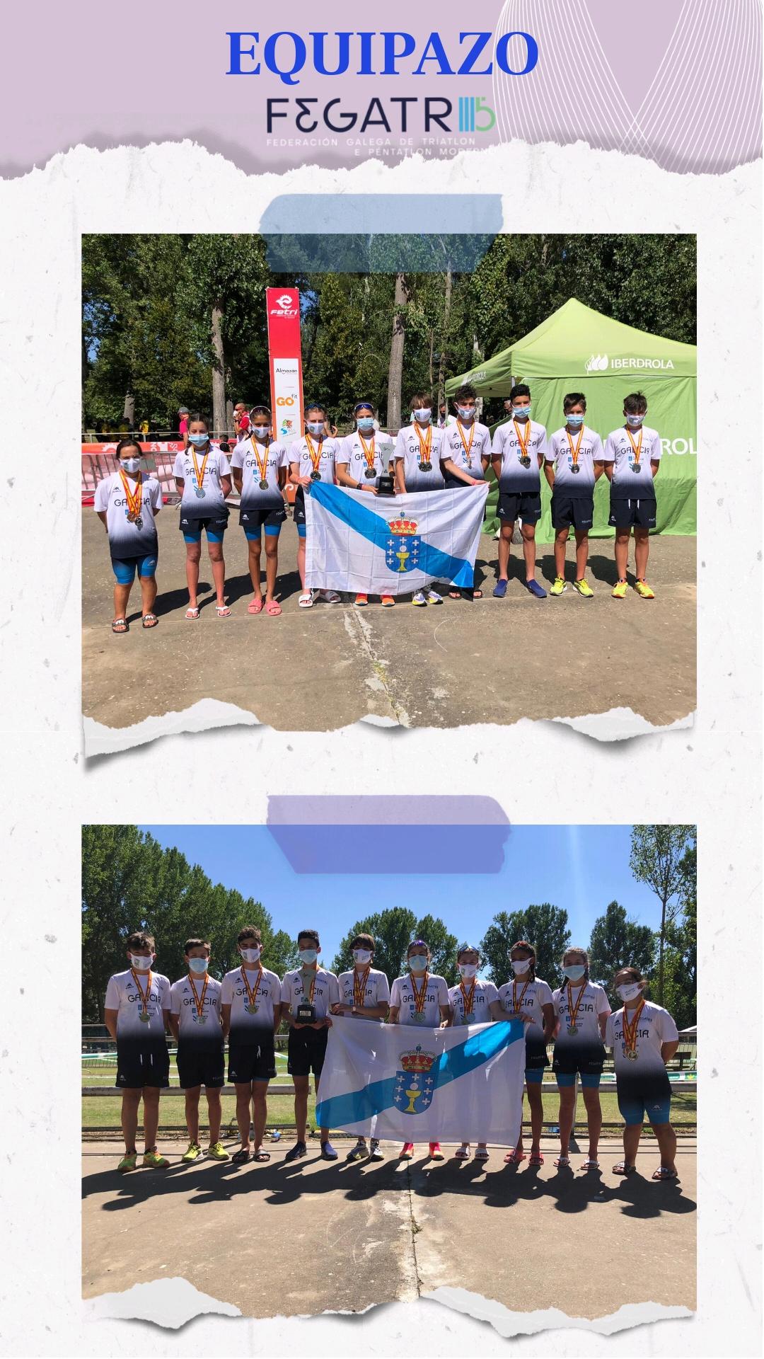 equipazo selección galega de triatlon