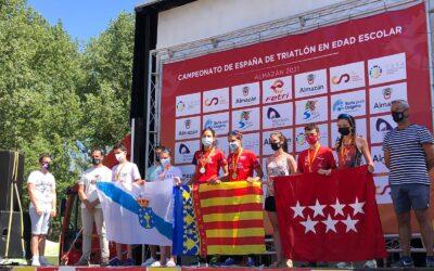 Selección Galega de Tríatlon, convivencia, aprendizaxe e competición