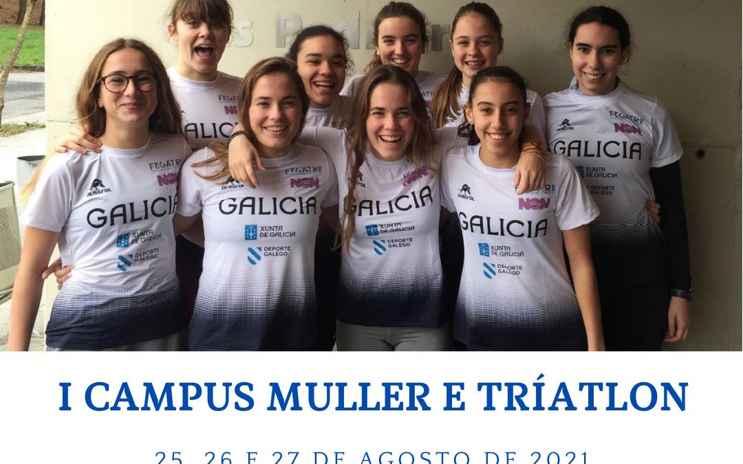 I Campus Muller e Tríatlon- Manzaneda (Ourense)