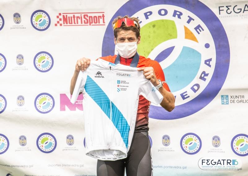 pablo dapena campion galego de triatlon