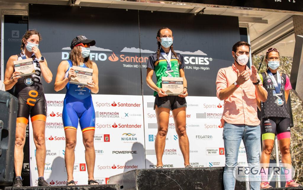 categoria feminina desafio islas cies campionato galego de media distancia